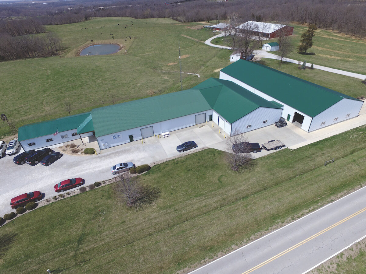 TCD Parts HQ Overhead View